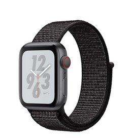 Apple AppleWatch Nike+ Series4 GPS+Cellular, 40mm Space Grey Aluminium Case with Black Nike Sport Loop