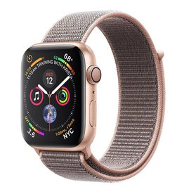 Apple AppleWatch Series4 GPS, 44mm Gold Aluminium Case with Pink Sand Sport Loop