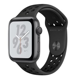 Apple Apple Watch Nike+ Series 4 GPS, 44mm Space Grey Aluminium Case with Anthracite/Black Nike Sport Band