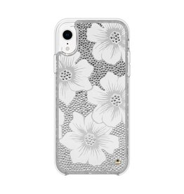 kate spade new york kate spade Full Clear Crystal Case for iPhone XR - Hollyhock