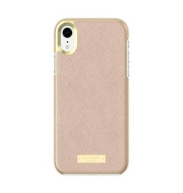kate spade new york kate spade Wrap Case for iPhone XR- Saffiano Rose Gold