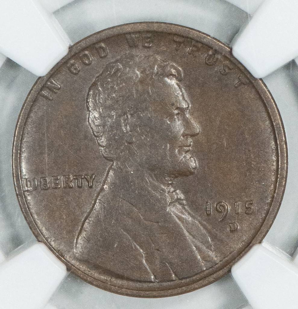 1915 D NGC XF45 BN Lincoln Cent