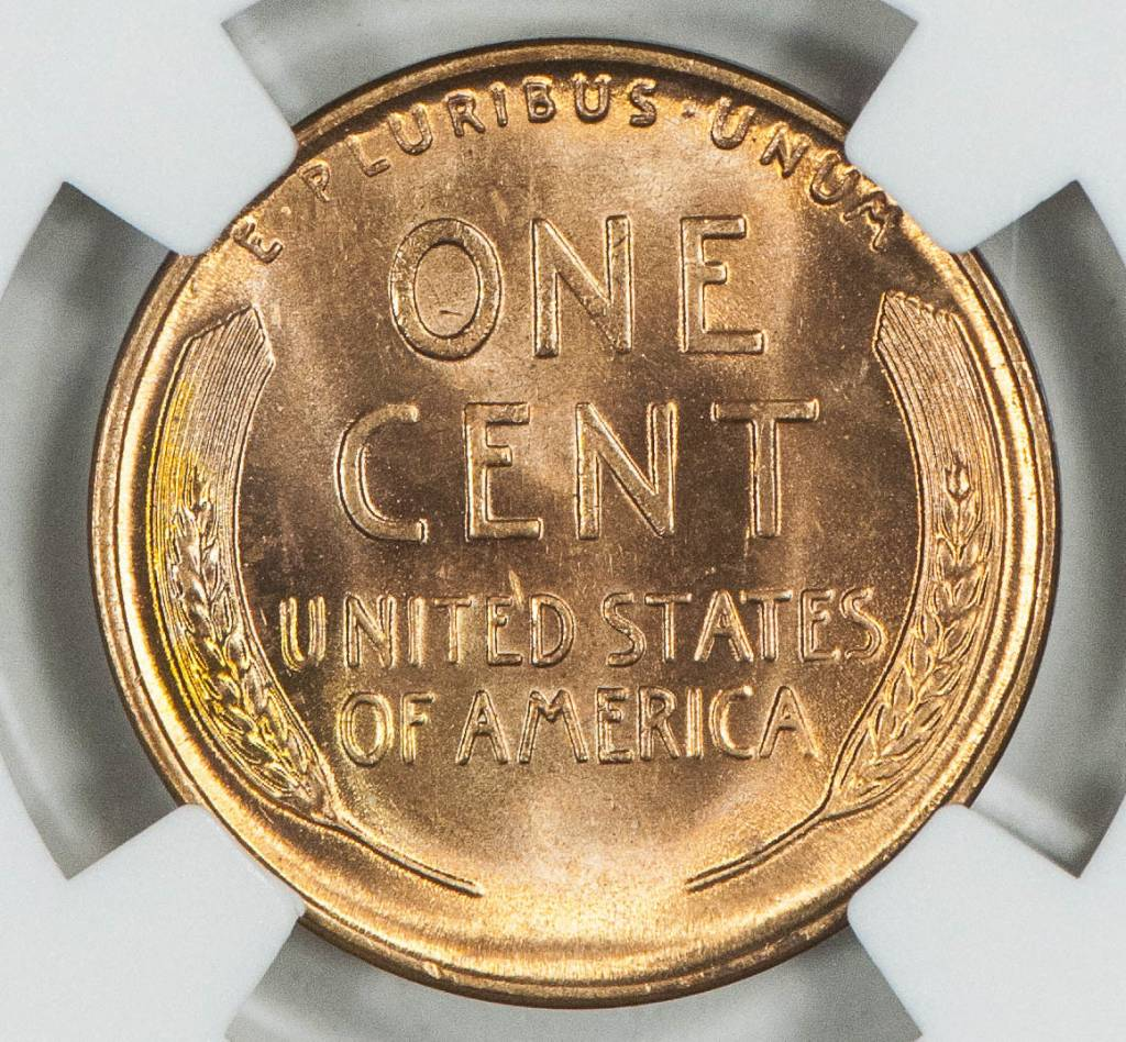 1937 NGC MS66 RD Lincoln Cent