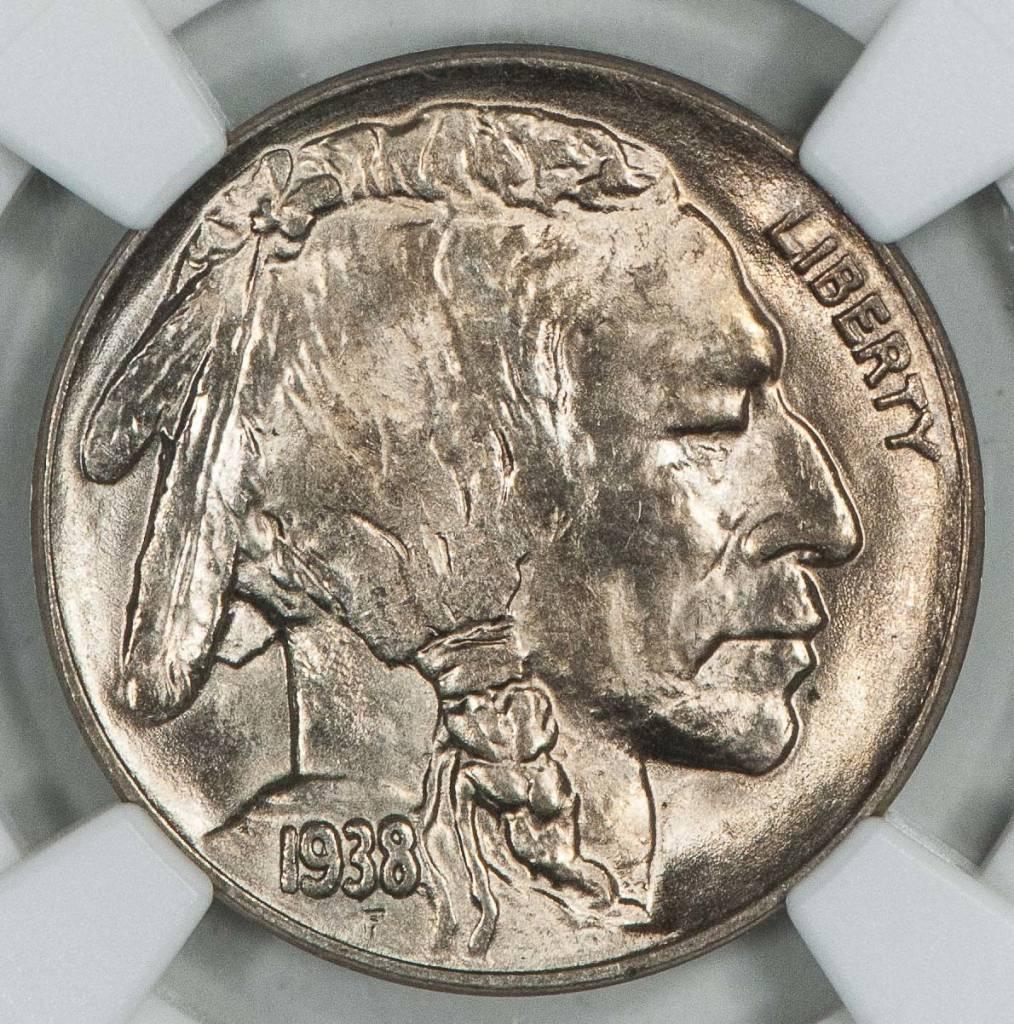 1938 D NGC MS65 Buffalo Nickel