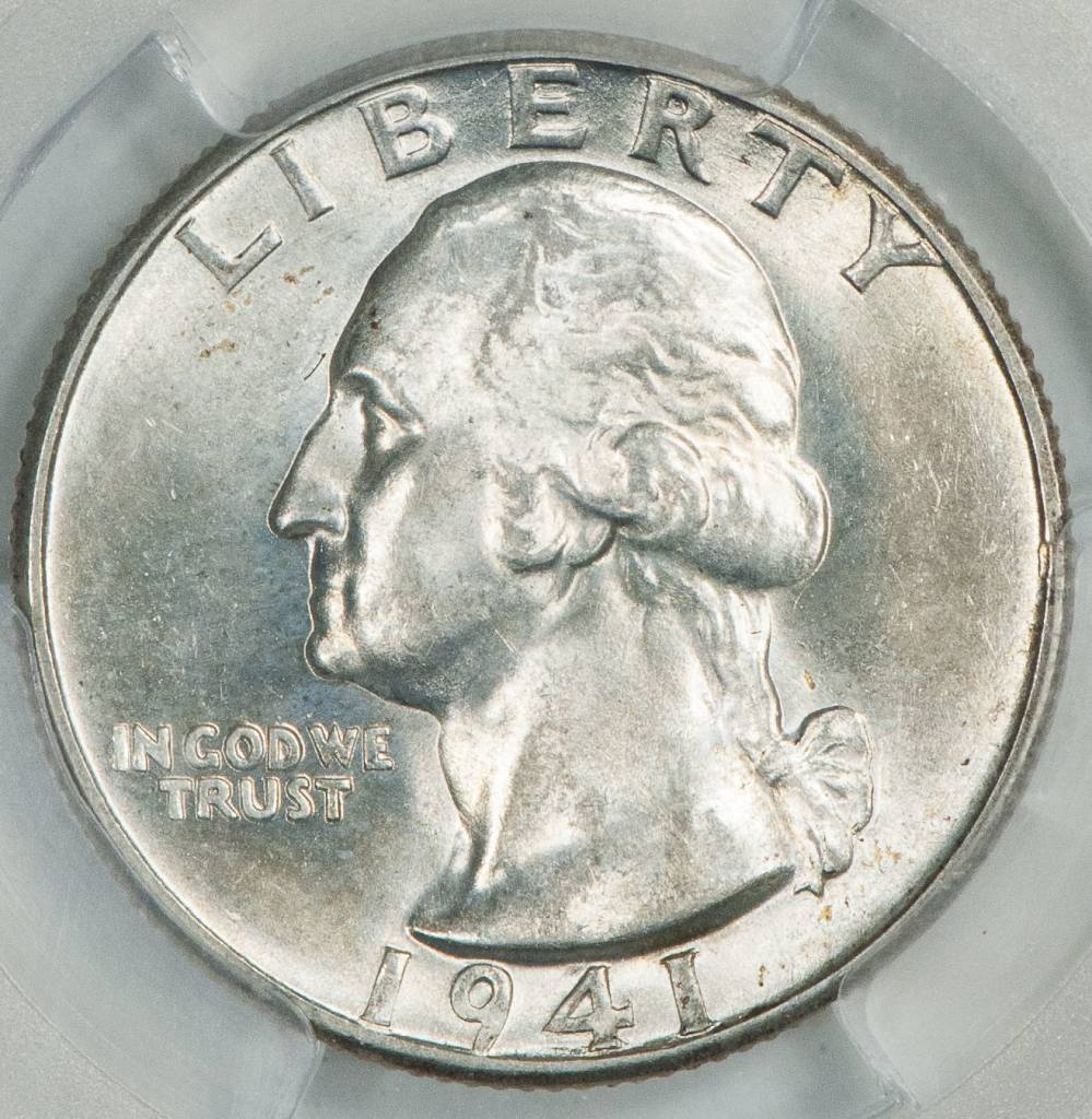 1941 D PCGS MS64 Washington Quarter