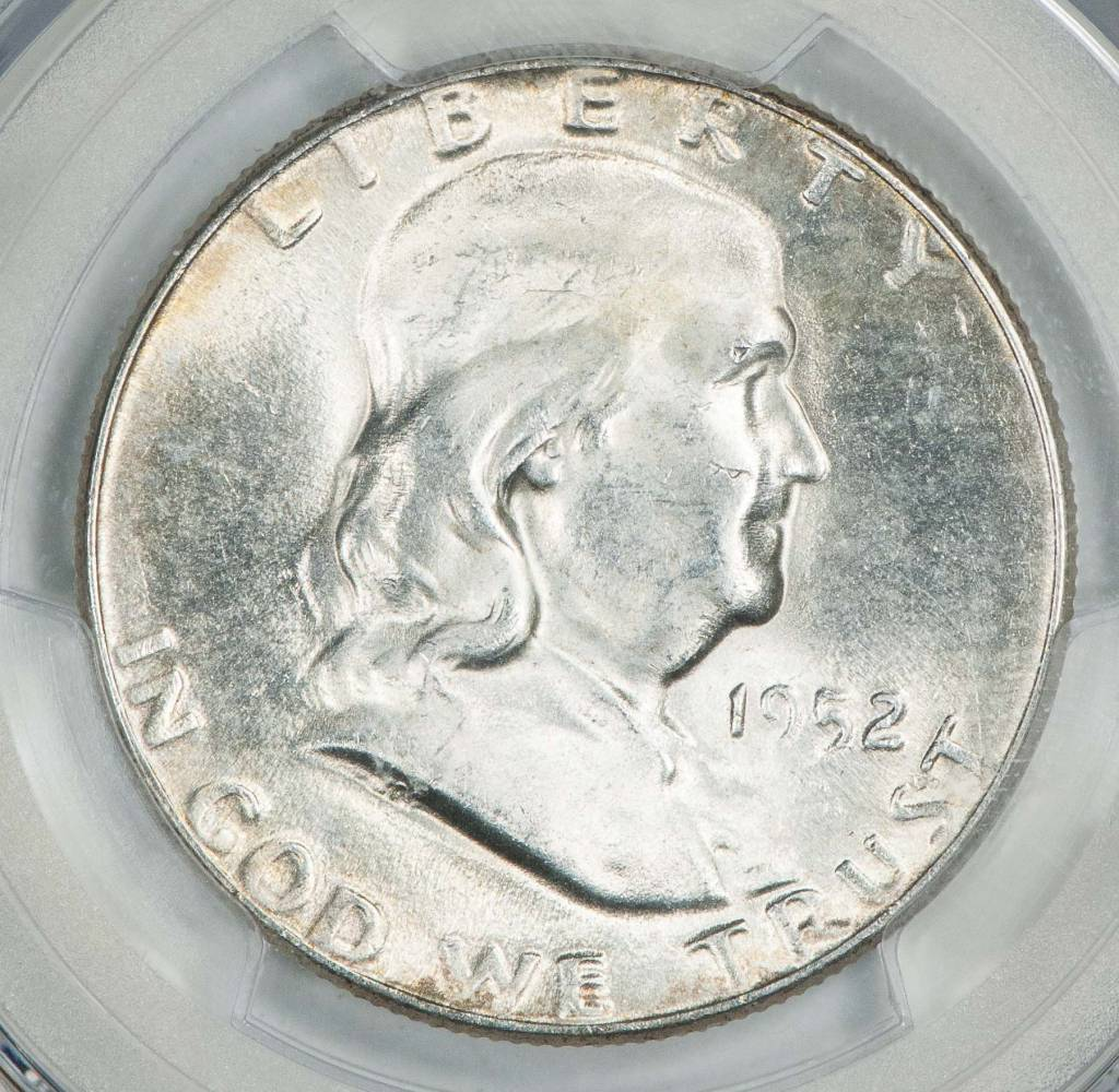 1952 PCGS MS65 Franklin Half Dollar