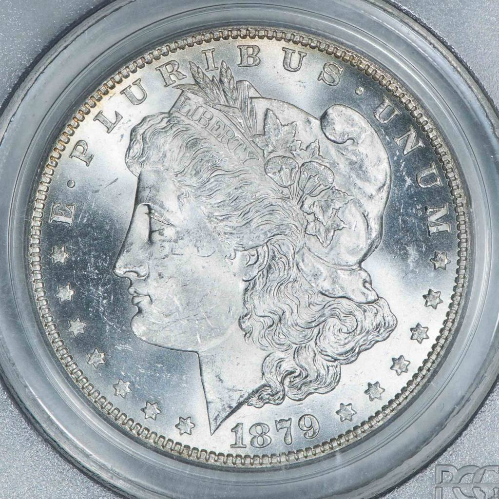 1879 O PCGS MS63 Morgan Silver Dollar