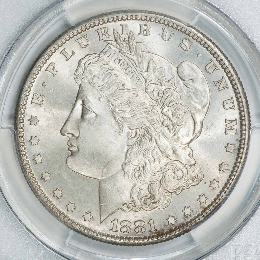 1881 S PCGS MS65 Morgan Dollar