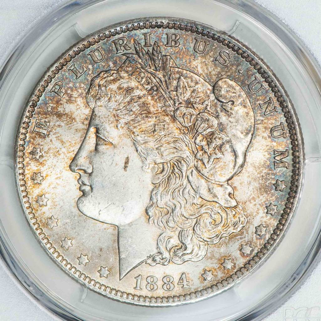 1884 O PCGS MS63 Morgan Dollar
