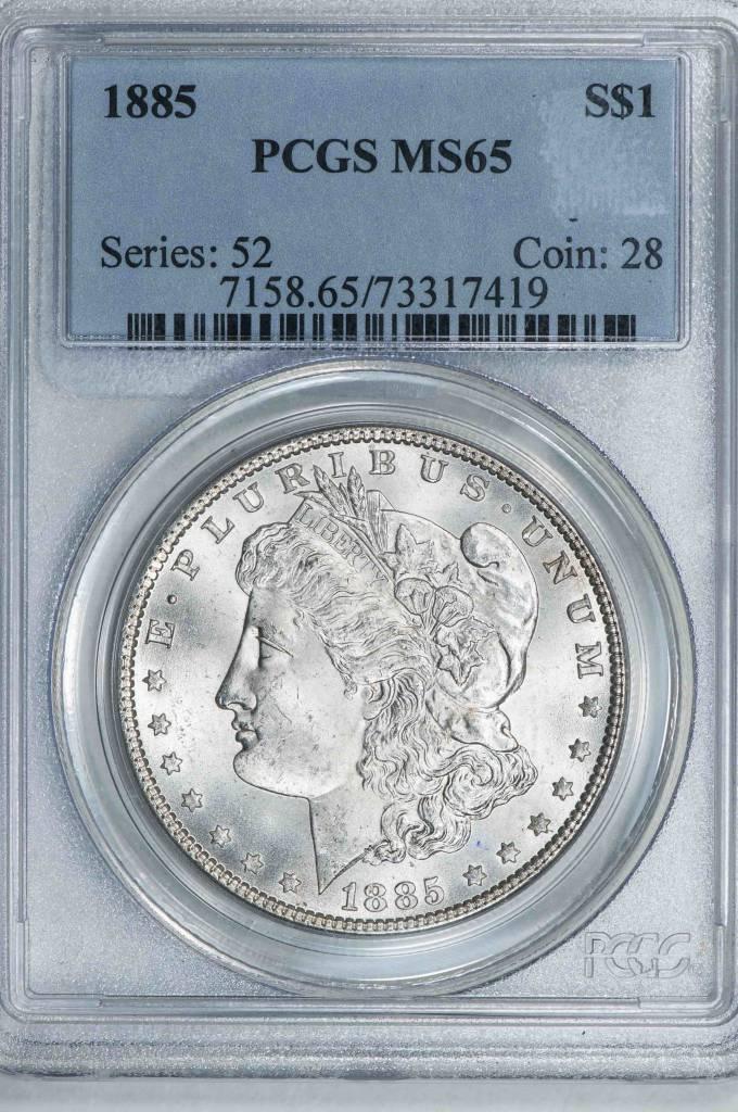 1885 PCGS MS65 Morgan Dollar