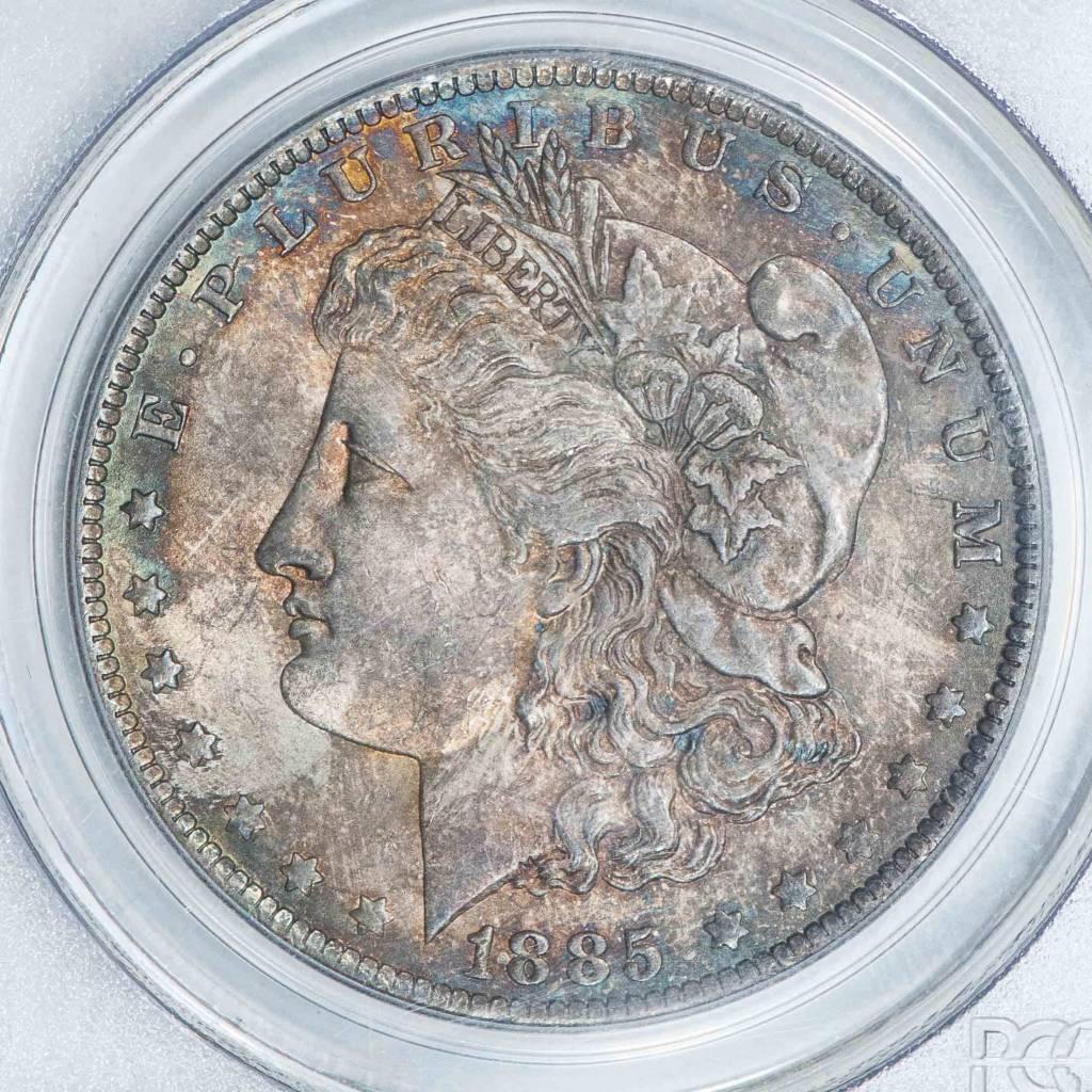 1885 O PCGS MS63 Morgan Silver Dollar