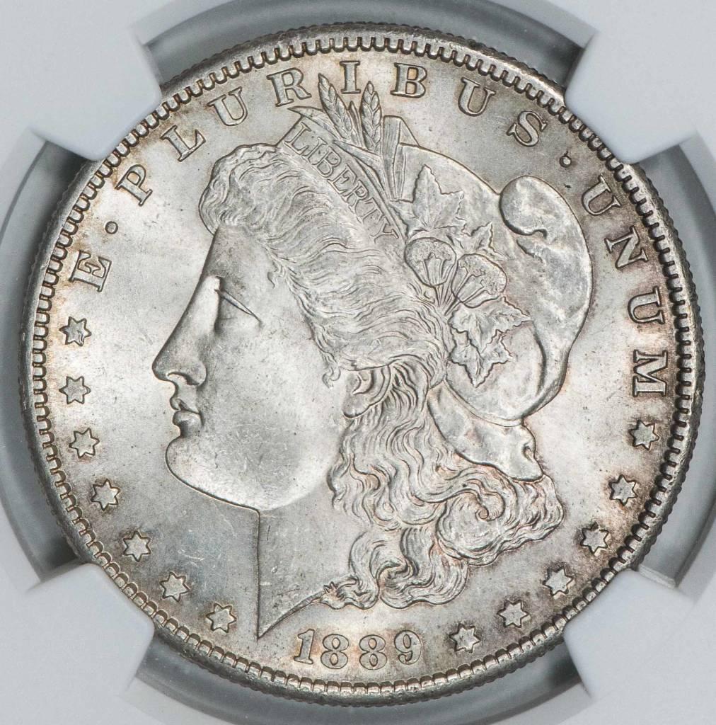 1889 S NGC MS62 Morgan Dollar
