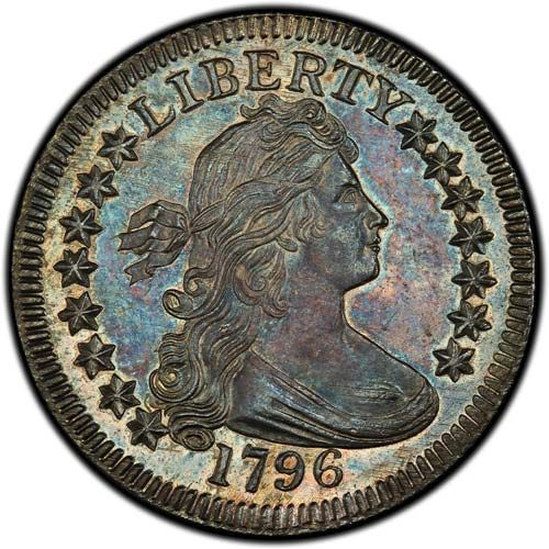 Draped Bust SM Eagle (1796)