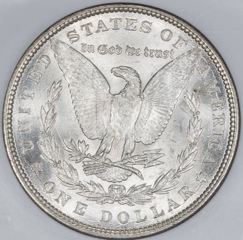 1884 NGC MS64 $1 Morgan Silver Dollar