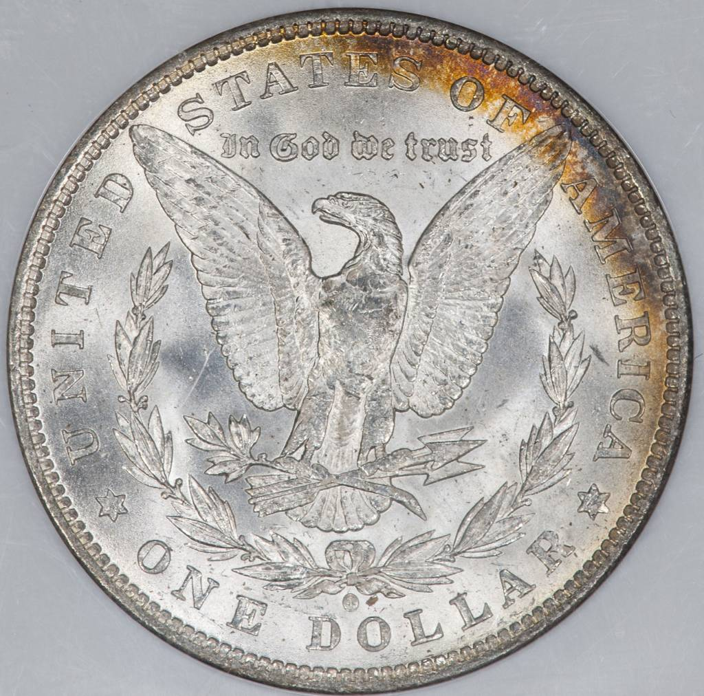 1884-O NGC MS62 $1 Morgan Silver Dollar