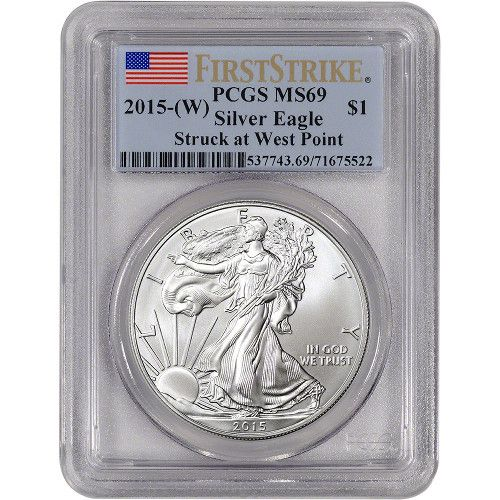 MS69 American Silver Eagles