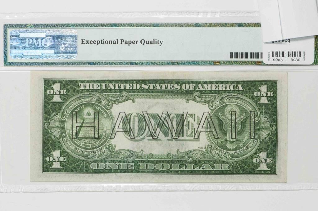 1935A PMG EPQ65 Hawaii $1 WWII Emergency Issue