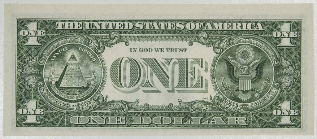 1963 B $1 Federal Reserve Note