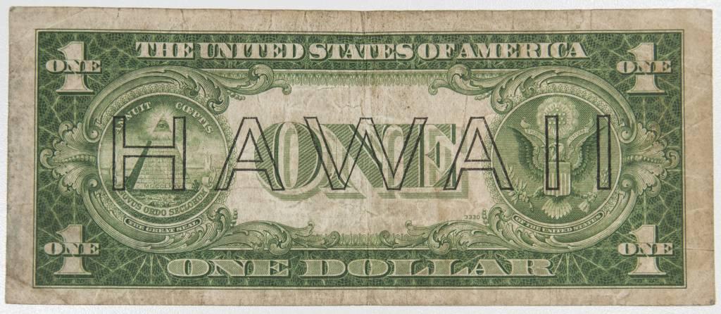 1935 A Hawaii Emergency Silver Cert