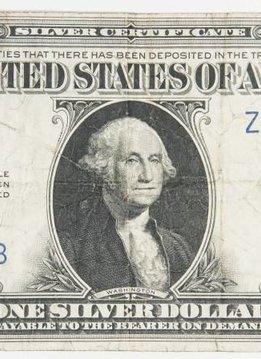 1923 $1 LArge Size Silver Cerificate