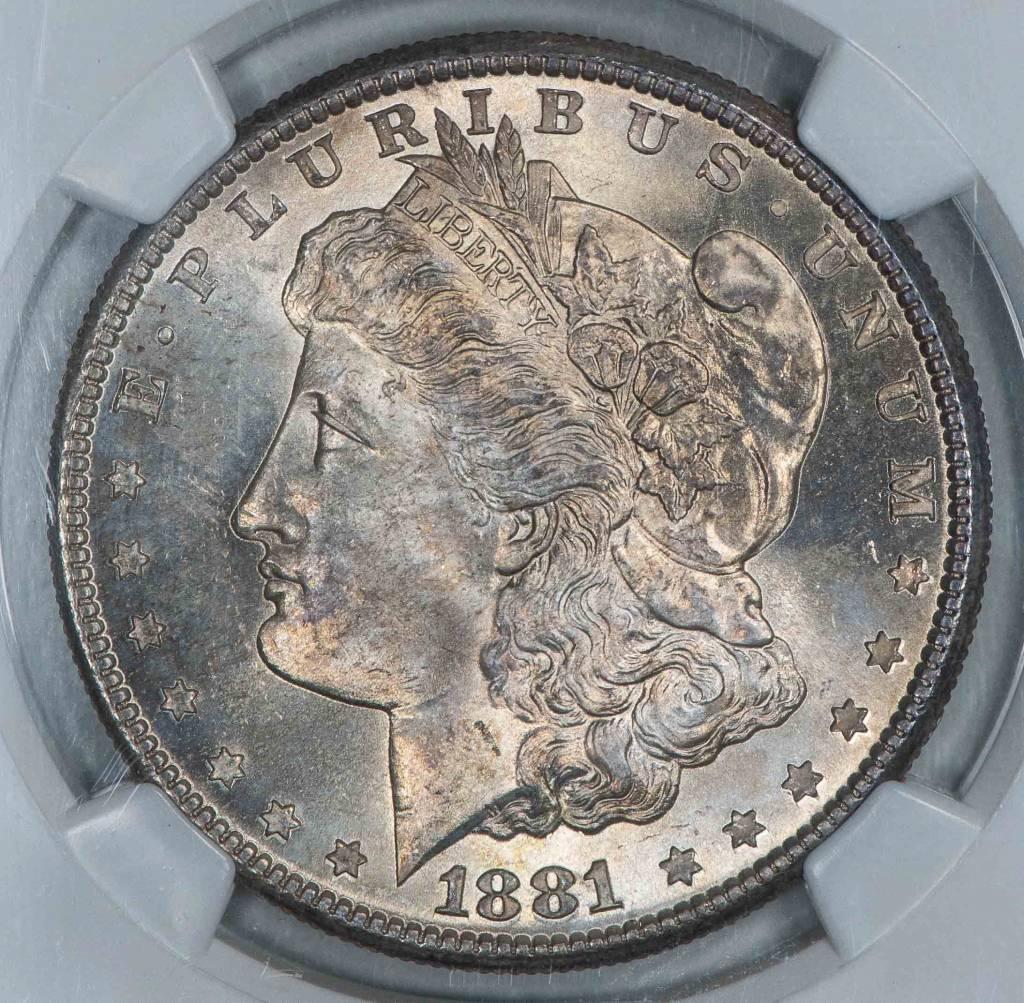 1881 S NGC MS65 Morgan Silver Dollar