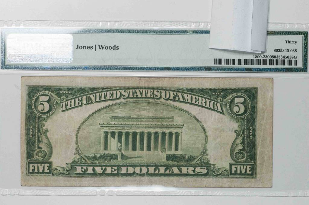 1929 Ty.2 PMG VF30 Jacksonville Florida National Bank Note CH#8321