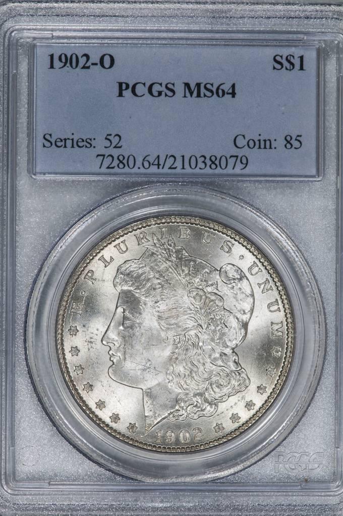 1902-O PCGS MS64 Morgan Silver Dollar