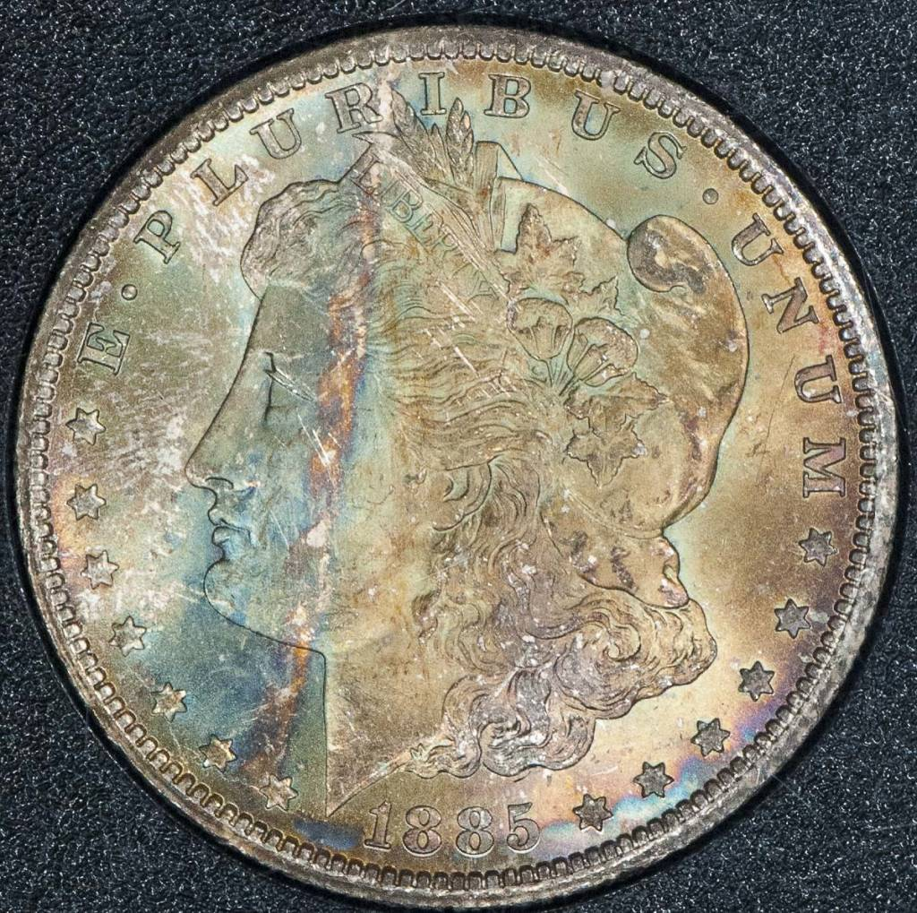 1885 CC NGC MS66 GSA Morgan Silver Dollar