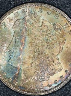 1885 CC NGC MS66 GSA Morgan Silver Dollar