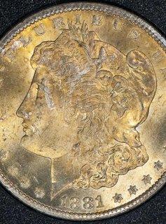 1881 CC NGC 66+ CAC Morgan Silver Dollar