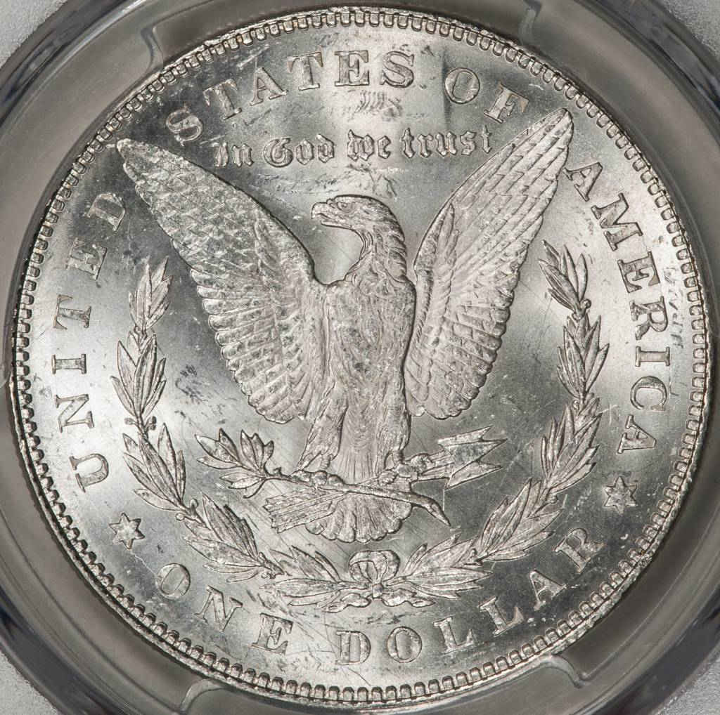1878 7TF PCGS MS63 REV OF 1878 MORGAN