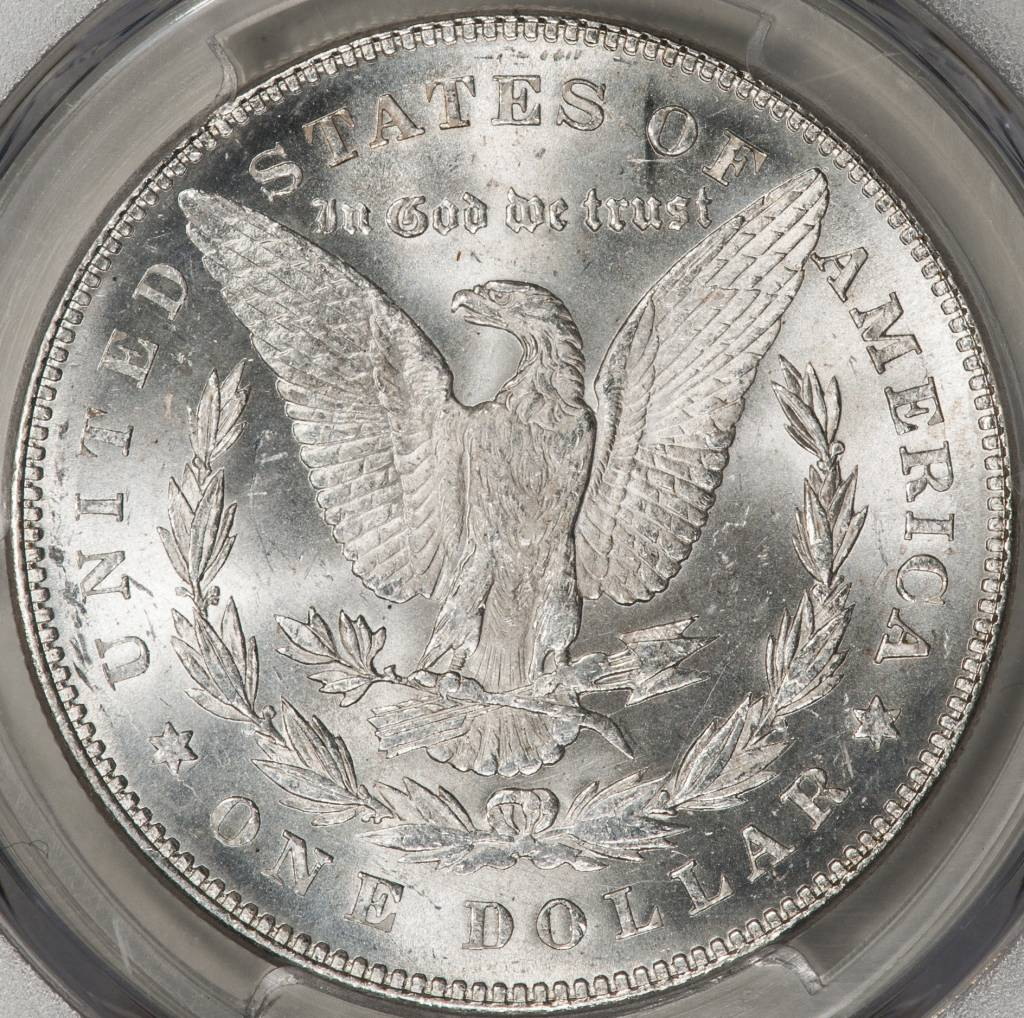 1878 7TF PCGS MS62 REV OF 1878 MORGAN