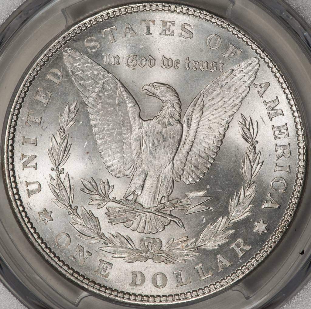 1878 7TF PCGS MS63 REV OF 1879 Morgan Silver Dollar