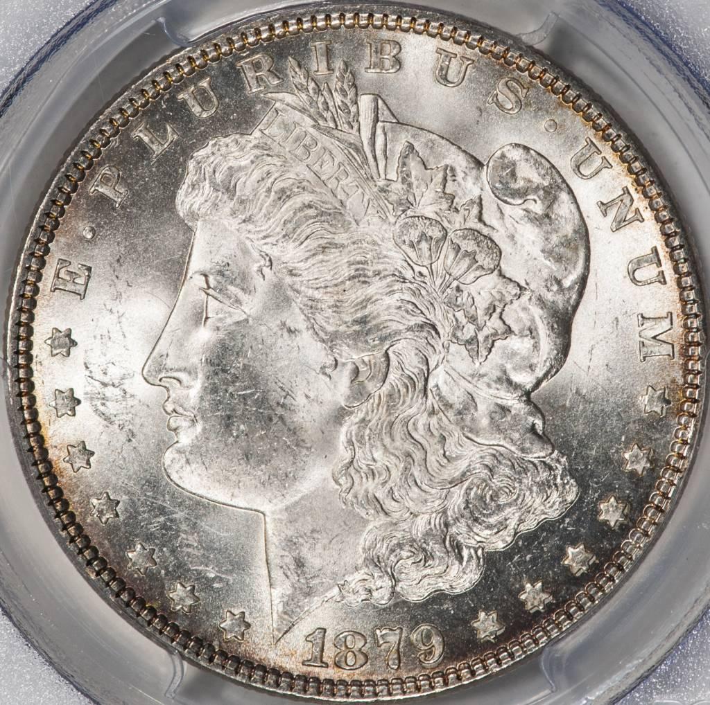 1879 PCGS MS63 Morgan Silver Dollar