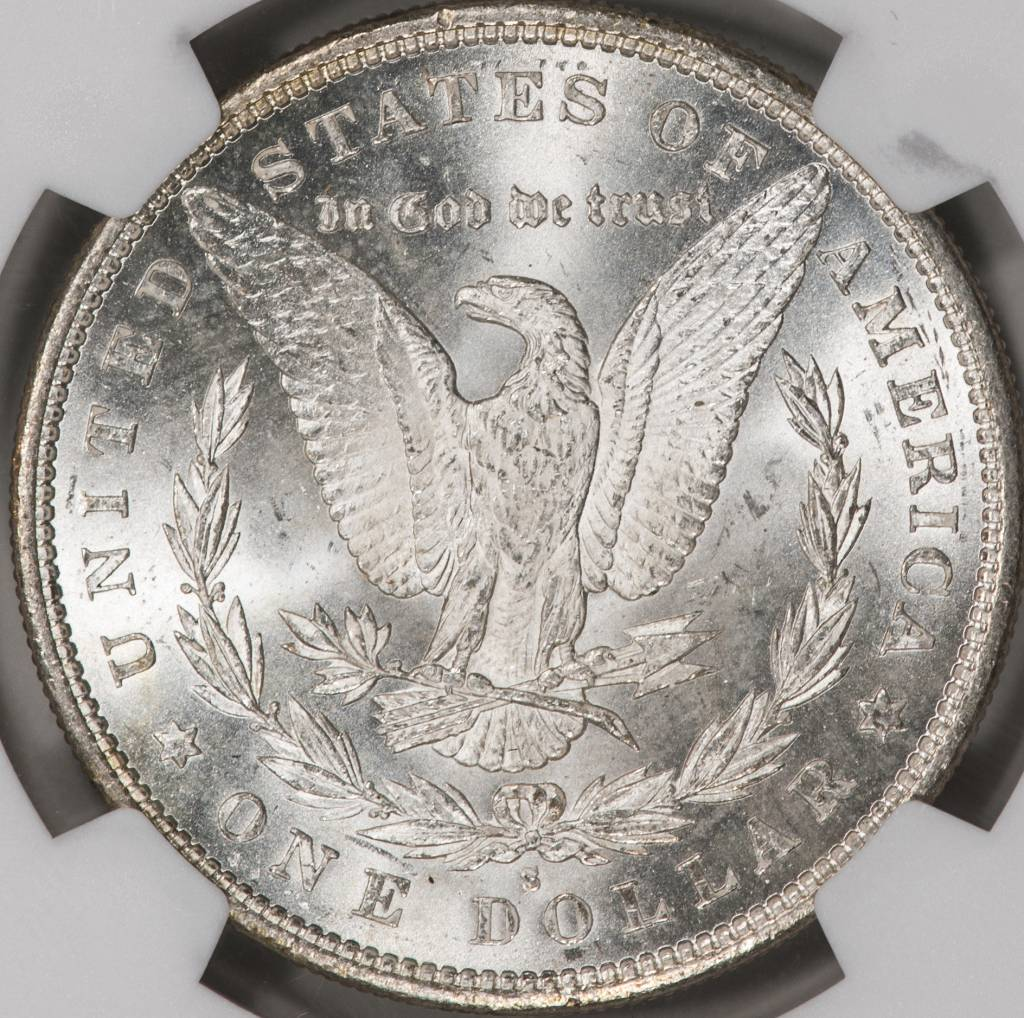 1879-S NGC MS64 Morgan Silver Dollar