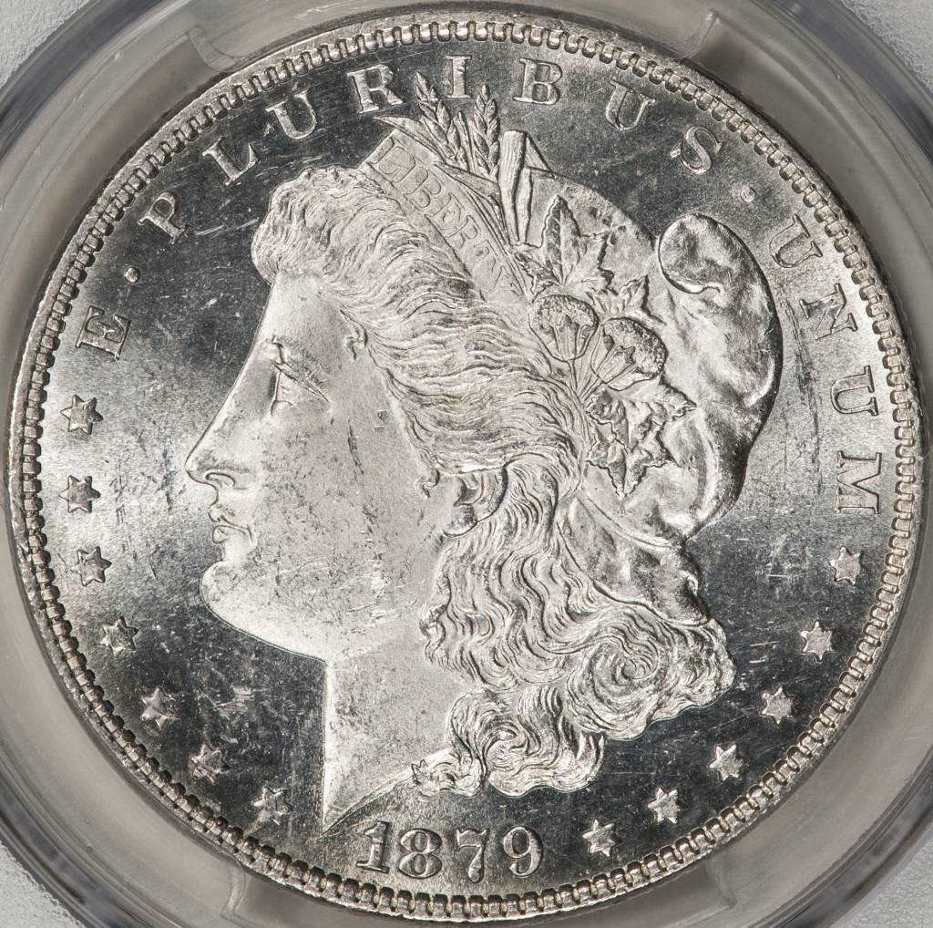 1879 PCGS MS63 Morgan Dollar