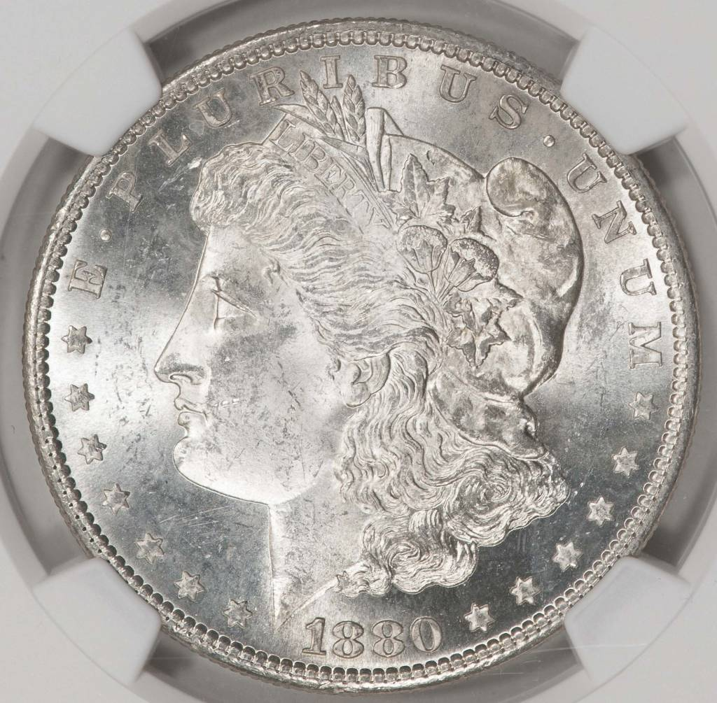 1880-S NGC MS63 Morgan Silver Dollar