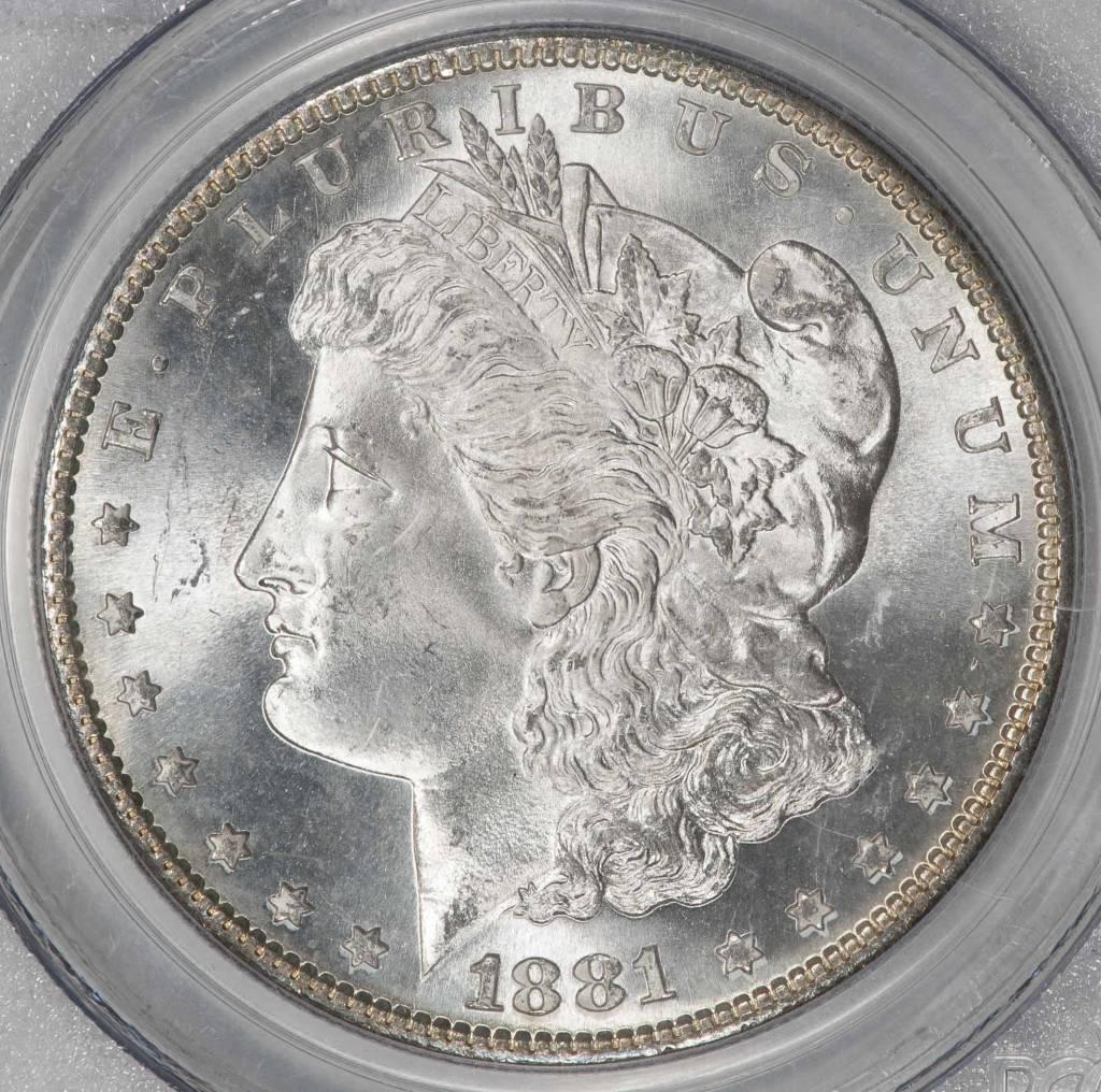 1881-S PCGS MS66 MORGAN DOLLAR