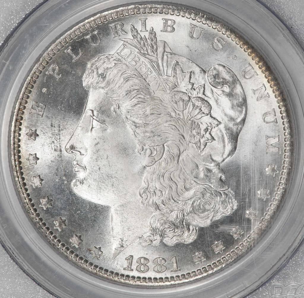 1881-S PCGS MS66 Morgan Silver Dollar