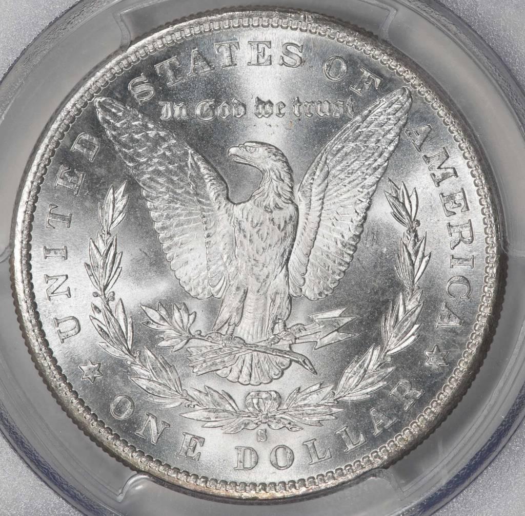 1881-S PCGS MS63 MORGAN DOLLAR