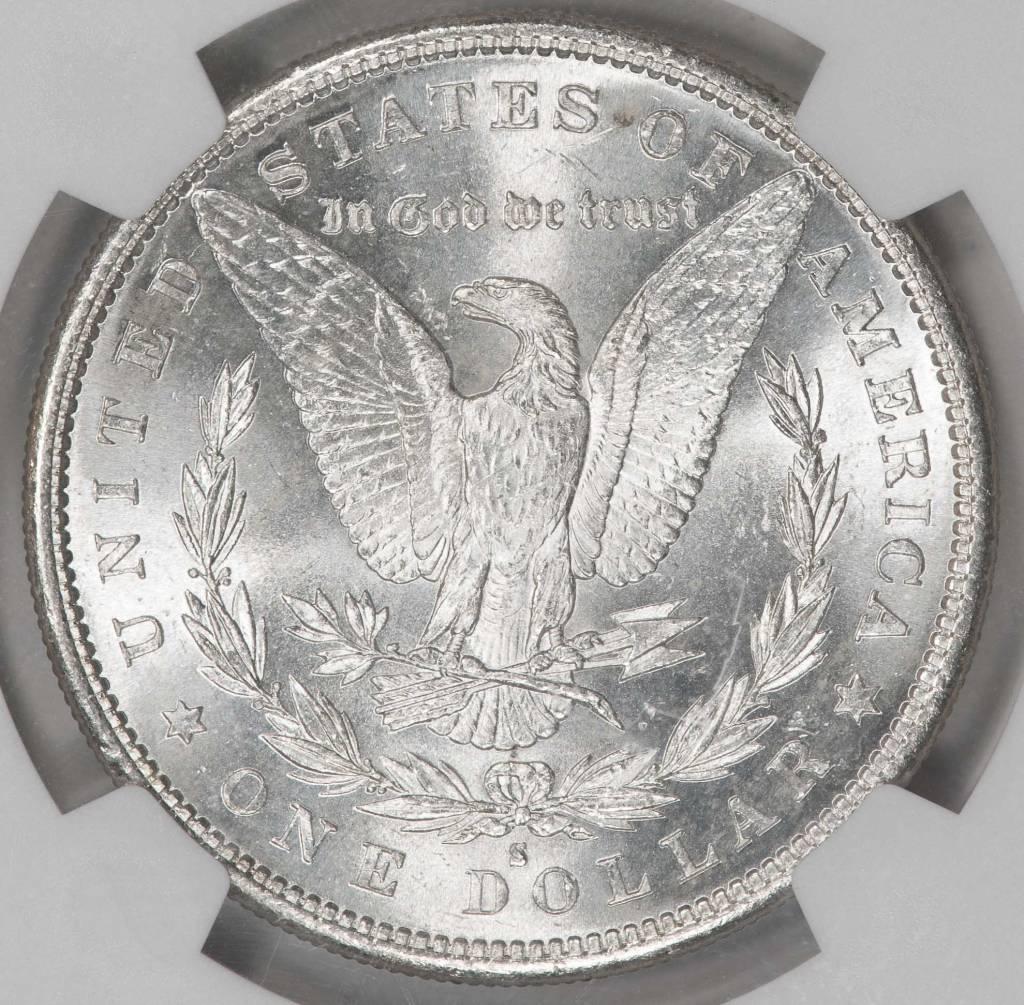 1884-S NGC MS62 Morgan Silver Dollar