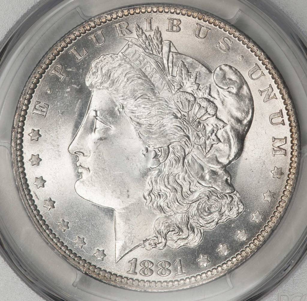 1881 O PCGS MS65 Morgan Silver Dollar