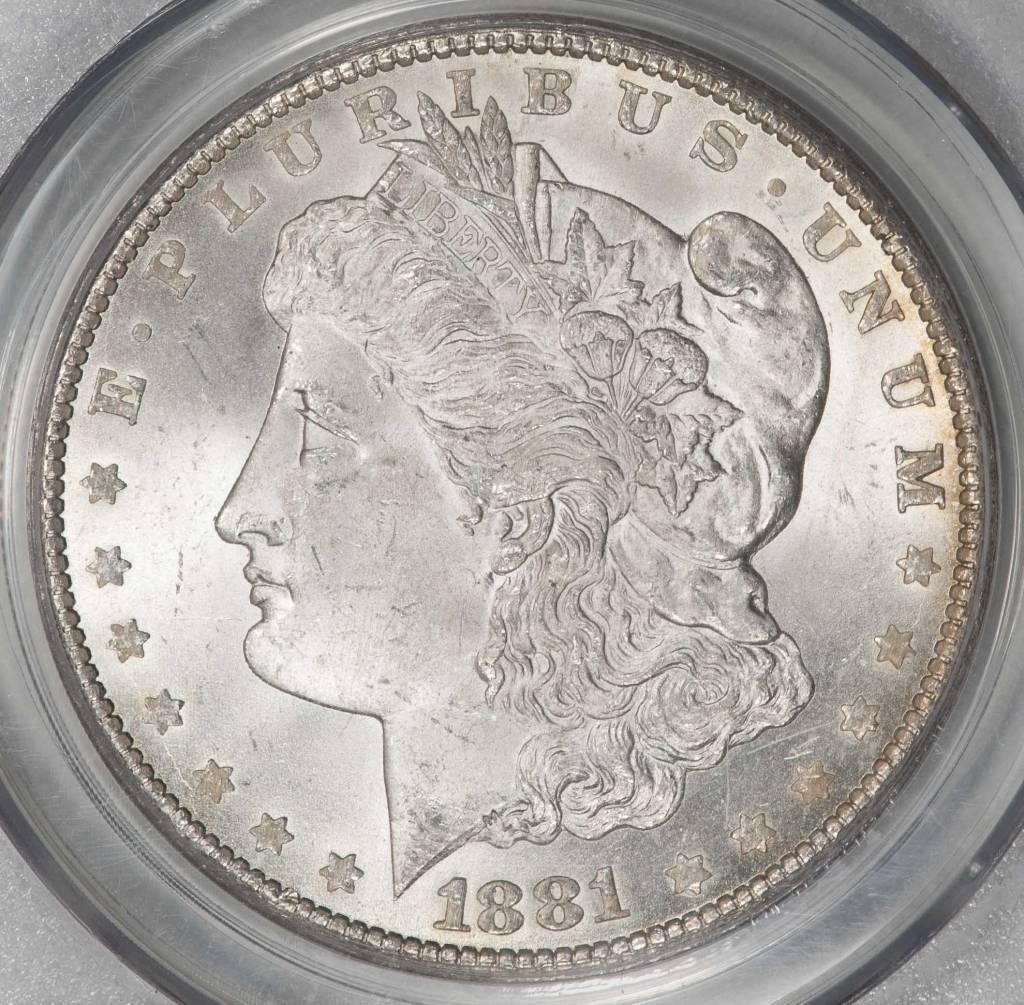1881-CC PCGS MS64 Morgan Silver Dollar