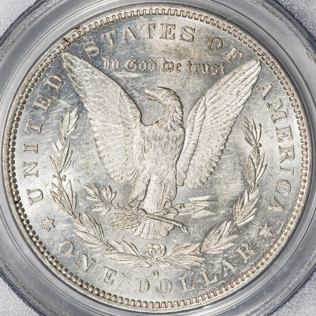 1882 O PCGS AU55 VAM 5 O/S EDS TOP 100 Morgan Dollar