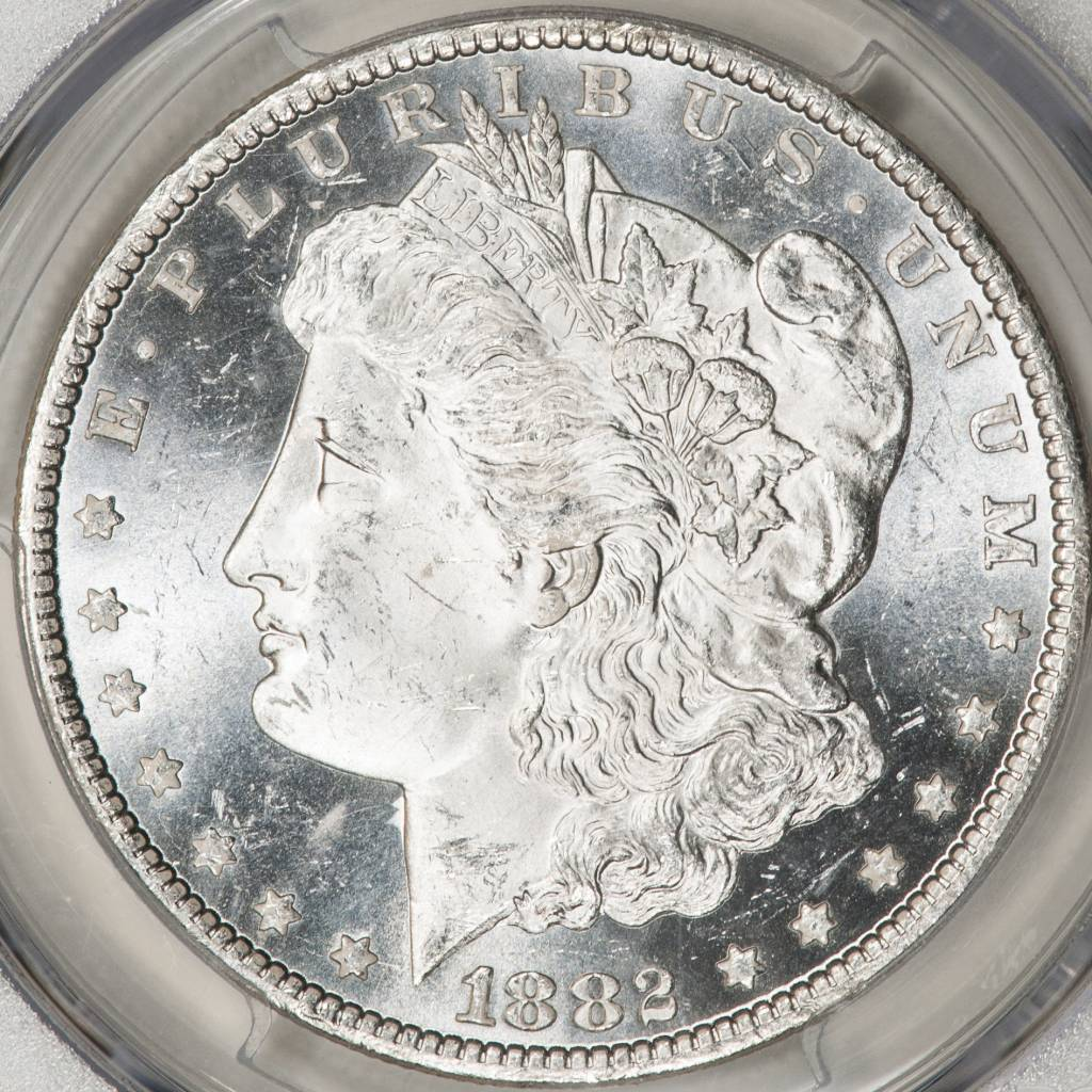 1882 CC PCGS MS64PL Morgan Silver Dollar
