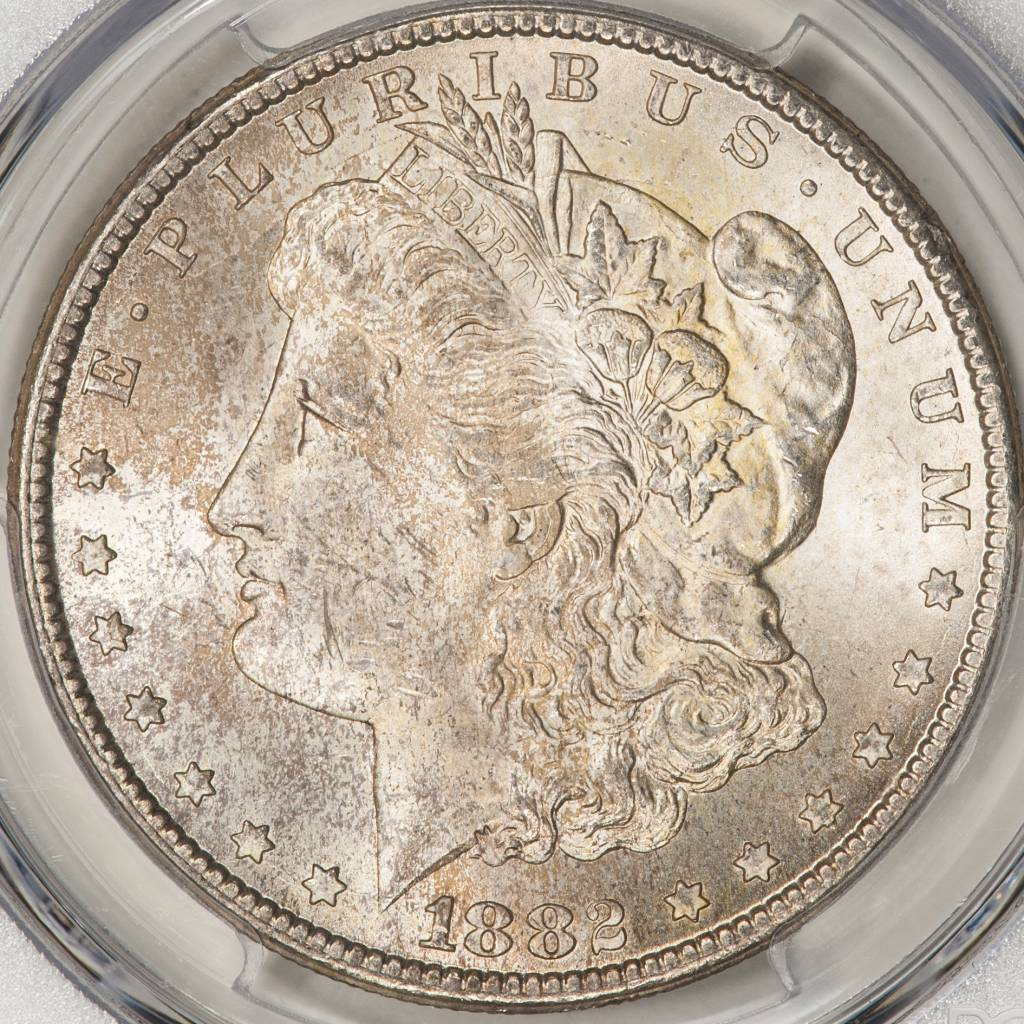 1882-CC PCGS MS64 Morgan Silver Dollar