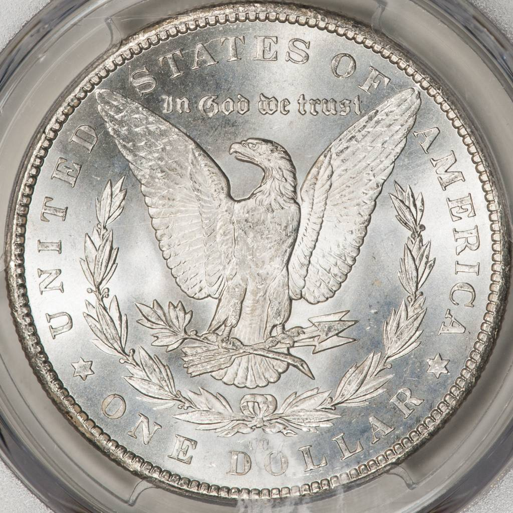 1882-CC PCGS MS63+ Morgan Silver Dollar