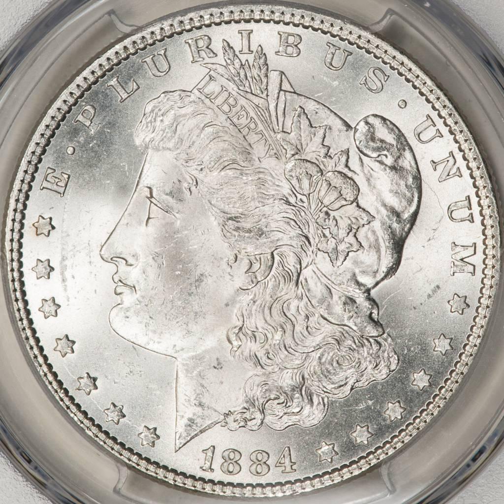 1884 PCGS MS64 Morgan Silver Dollar