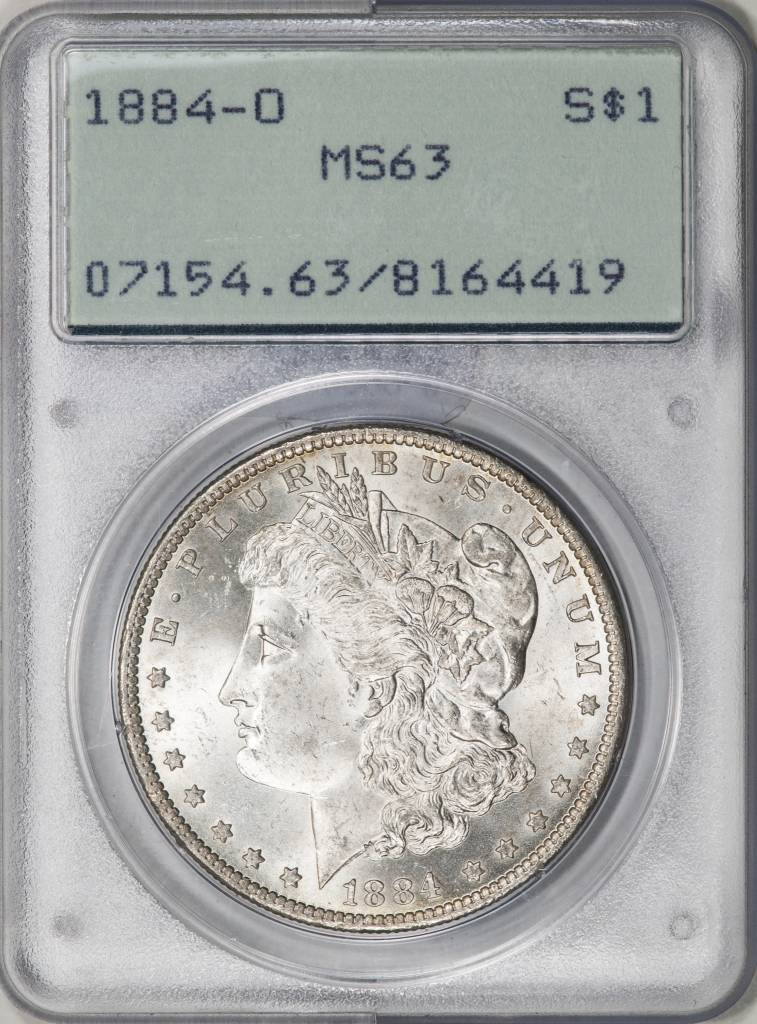 1884-O PCGS MS63 Morgan Silver Dollar