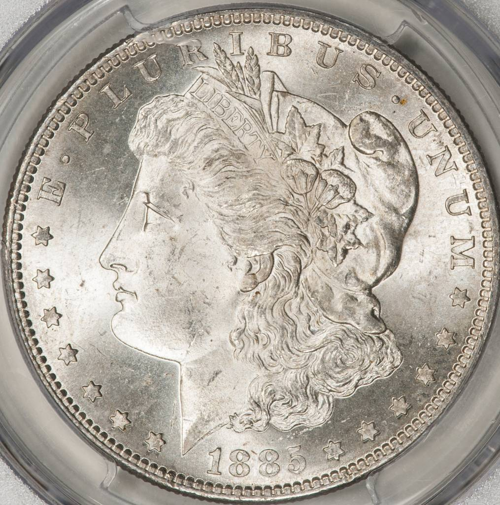 1885-S PCGS MS64 Morgan Silver Dollar